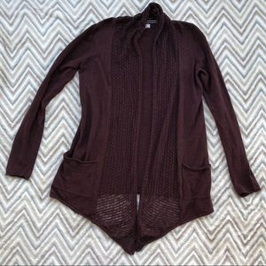 Fat Face Cardigan - Maroon - Size 4